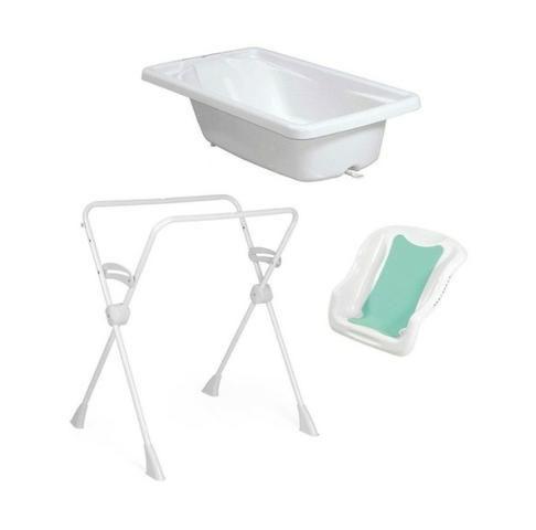Banheira para Bebê Burigotto, com suporte e assento