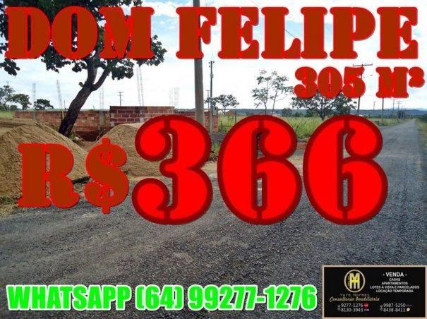 Lotes a prestação em Caldas Novas -  Dom Felipe entrada da cidade. - Foto 3