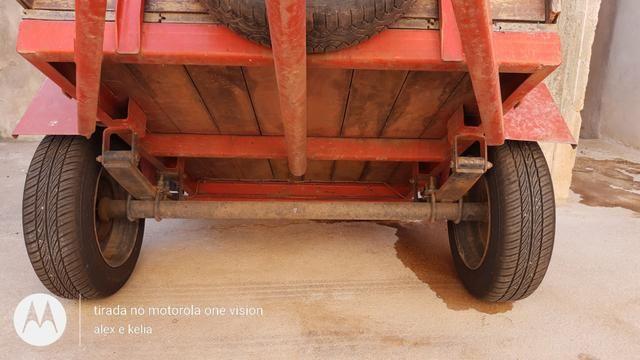 Reboque de um eixo emplacada - Foto 5