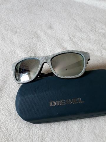 Óculos de sol unissex Diesel , modelo 0111 , cinza , original , novo ... db08ece510
