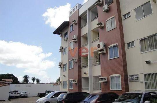 Apartamento para alugar, 62 m² por R$ 700,00/mês - Dias Macedo - Fortaleza/CE - Foto 2