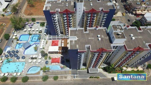 Apartamento com 1 dormitório à venda, 44 m² por R$ 100.000,00 - Do Turista - Caldas Novas/ - Foto 16
