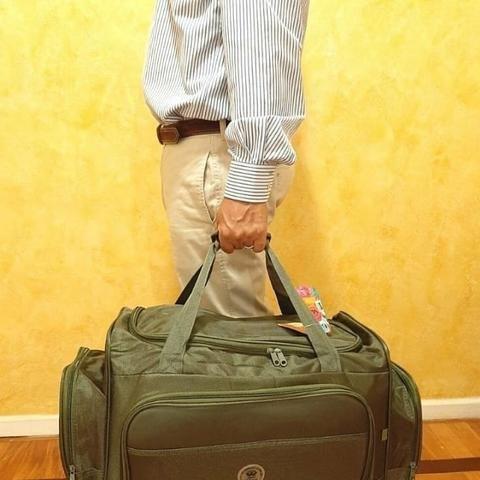 Bolsa De Viagem Mala De Mão Mala De Viagem Média 50L - Foto 3