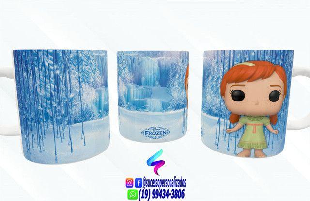 Canecas Colecionáveis Funko Pop Frozen - Foto 4