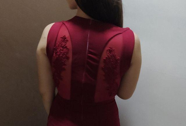 Vestido de festa marsala (36/38) - temos outros modelos disponíveis - Foto 3