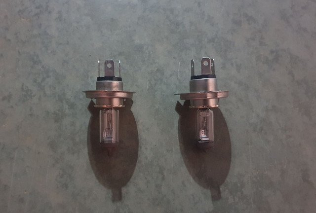 Lâmpadas faróis H4