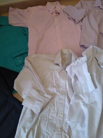 Lote camisas Tam 3 adulto - Foto 3