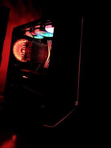 Pc Gamer Completo, Ryzen 5 + RTX 3060 12GB, Com Monitor, leía a descrição  - Foto 2