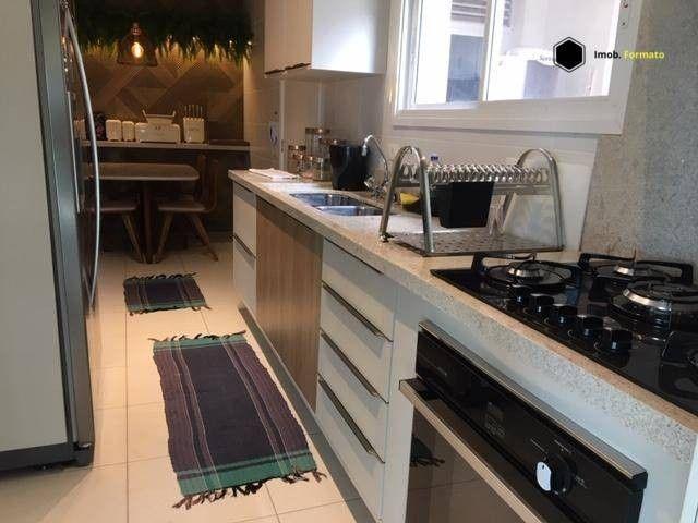Apartamento Mobiliado com 3 suítes à venda, 142 m² por R$ 1.600.000 - Royal Park - Campo G - Foto 12