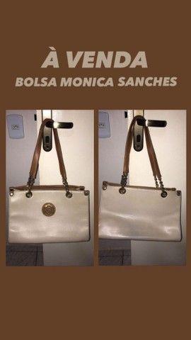 Bolsa Mônica Sanches e Carteira de mão Gash