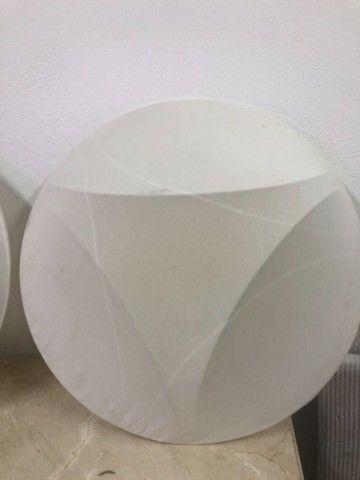 Luminária tecido  - Foto 2