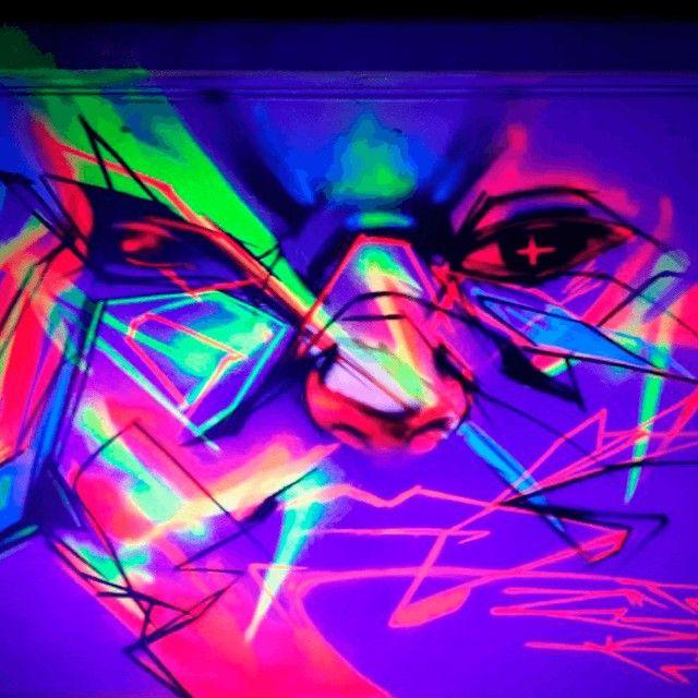 Tinta spray roxo fluorescente Nou Colors (violeta luminoso) - Foto 5