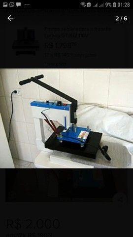 Máquina de estampar camisetas da compacta print - Foto 5
