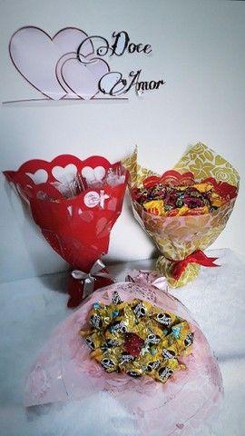 Buquê de chocolates  - Foto 6