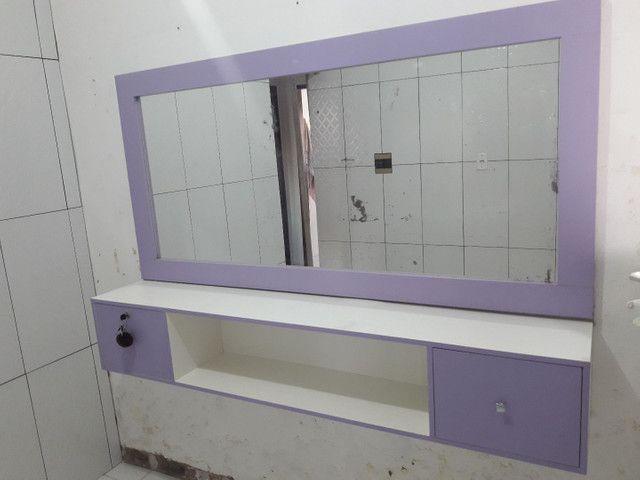 Bancada com espelho 450 reais - Foto 5