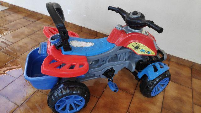 Motoca que vira Triciclo METADE DO PREÇO - Foto 6