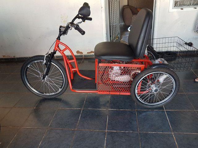 Triciclo motorizado 49cc 4t - Foto 5