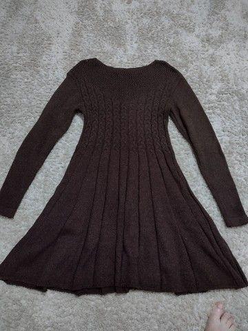 Vestido novo de tricô