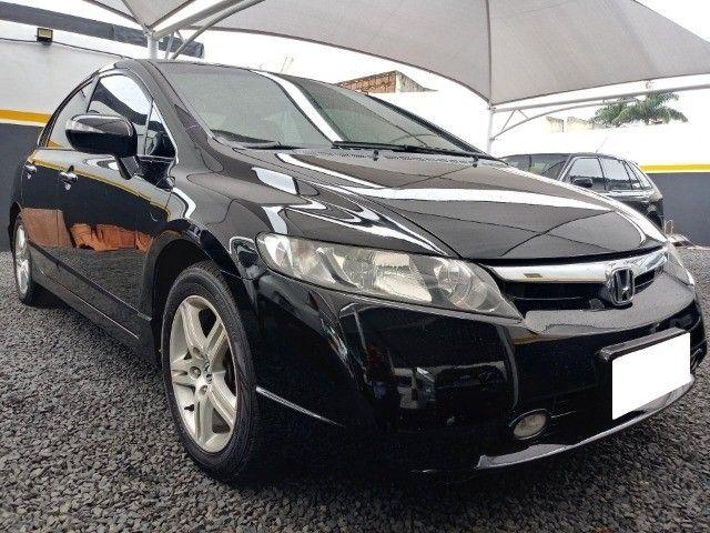 Honda Civic lxl 1.8 cinza 16v flex 4p aut. - Foto 12