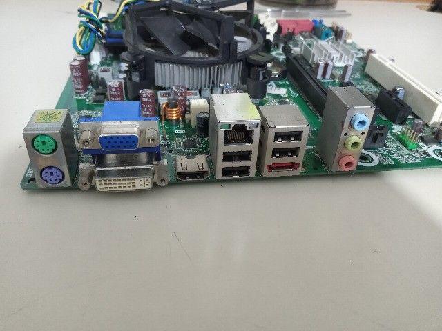 Motherboard Ipmip-Gs + Intel i3 3.20Ghz + Cooler + 4 GB Kingston DDR3 - Foto 3