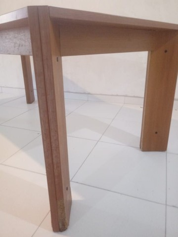 Mesa com vidro medidas na descriçao - Foto 6