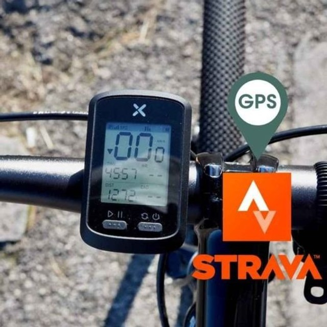 Velocimetro GPS Bike Bicicleta Noturna Xoss G+ Plus Bluetooth/Strava Lacrado 10x Sem Juros - Foto 2