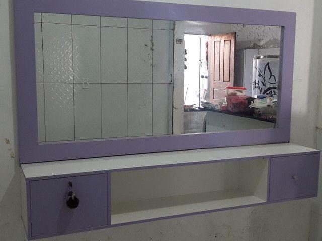Bancada com espelho 450 reais - Foto 6