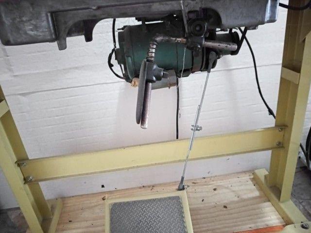 Máquina semi industrial, costura reta  - Foto 3