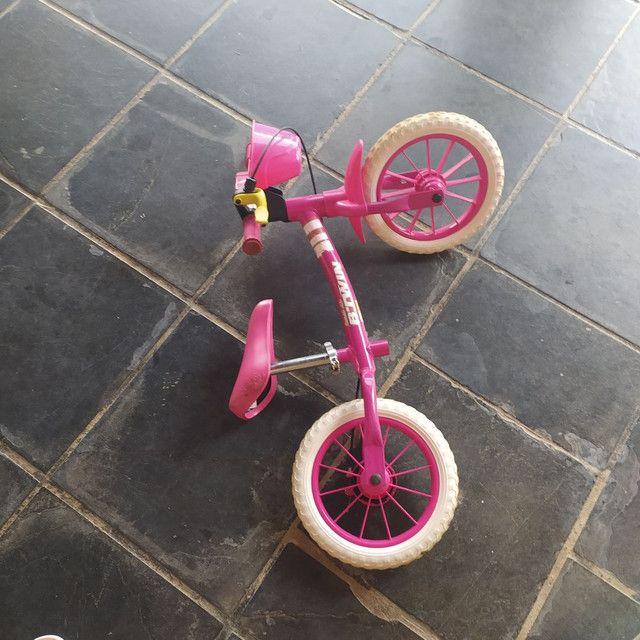 Bicicleta infantil sem pedal - Foto 3
