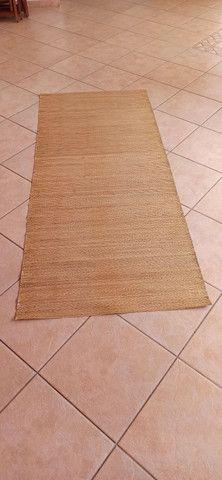 Esteira de palha de arroz - tamanho 2,3 x 0,9