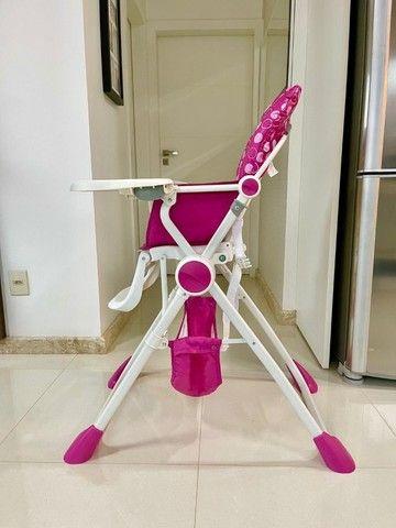 Cadeira alimentação Pocket Lunch pink  Chicco - Foto 2