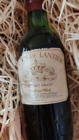 Vinho tinto Baron de lantier 1984 180ml