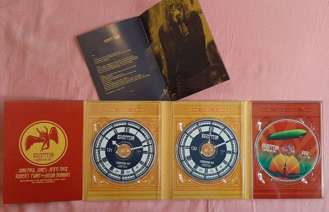 Box Led Zeppelin Celebration Day (2 CDs + 1 dvd) - Foto 4