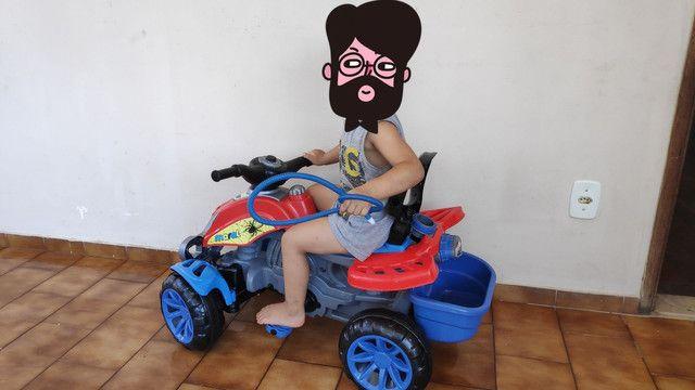Motoca que vira Triciclo METADE DO PREÇO - Foto 3