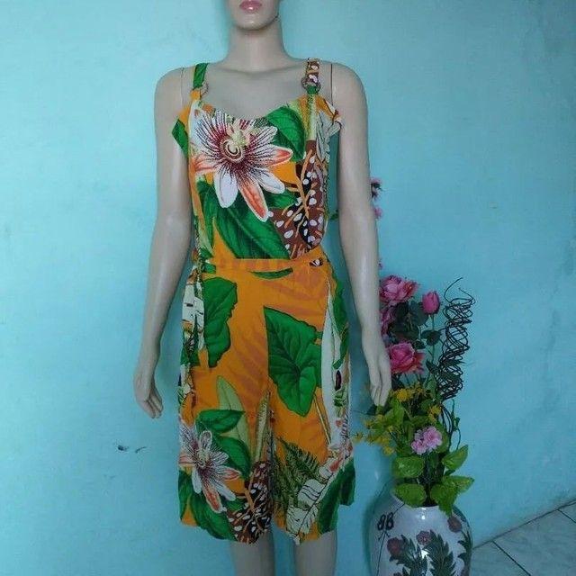 Macacão pantalona Feminino floral - Foto 5