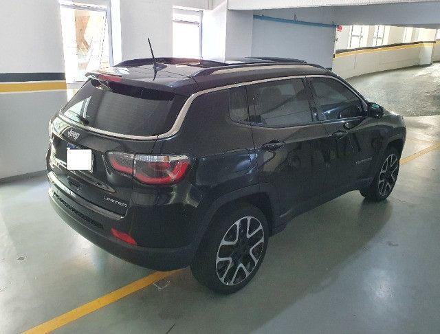 Jeep Compass Limited Diesel com Teto Solar, Park Assist (estaciona sozinho), 18/18 - Foto 13
