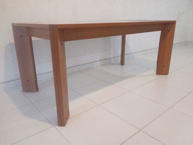 Mesa com vidro medidas na descriçao - Foto 3
