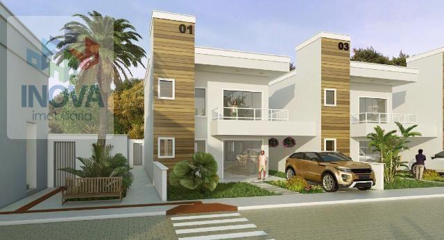 Casa Em Condomínio - 3 Dormitórios - Duplex - Em Obra - Piso Porcelanato
