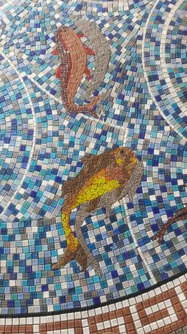 Piso Mosaico, acabamento, porcelanato, mosaico, mandala - Foto 4