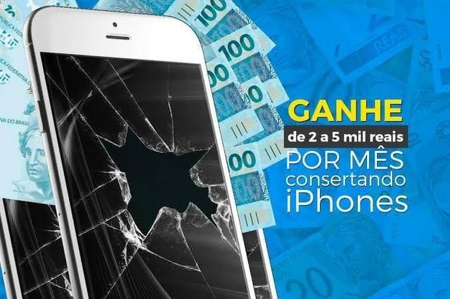 Curso de manutenção/conserto de Iphone