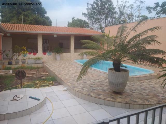 Casa para Venda em Várzea Grande, Ouro Verde, 3 dormitórios, 1 suíte, 3 banheiros, 4 vagas