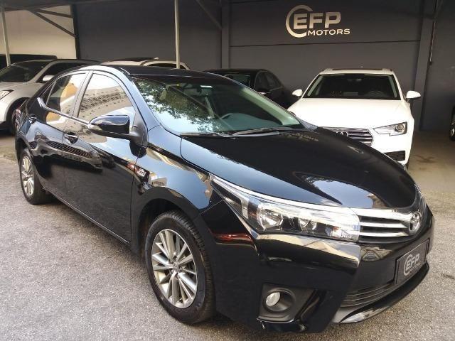 Toyota Corolla 2015 2.0 Xei Preto Flex Automatico Impecavel
