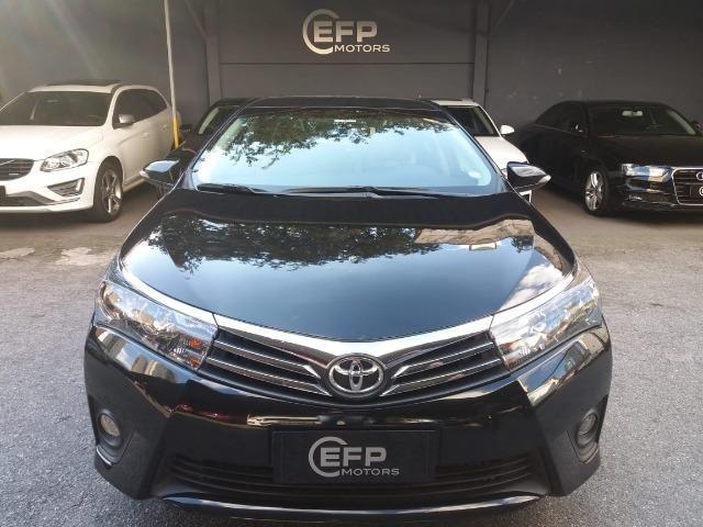 Toyota Corolla 2015 2.0 Xei Preto Flex Automatico Impecavel - Foto 2