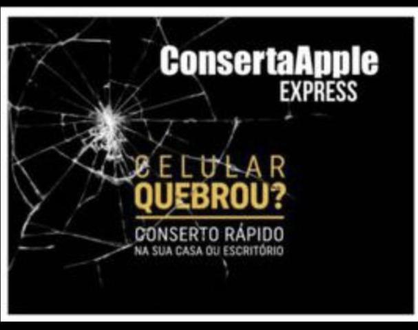 Conserta Express/Troca tela IPhone 7 230 reais com 3 meses garantia