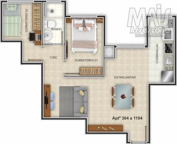 Apartamento para venda em novo hamburgo, centro, 2 dormitórios, 1 banheiro, 1 vaga - Foto 7