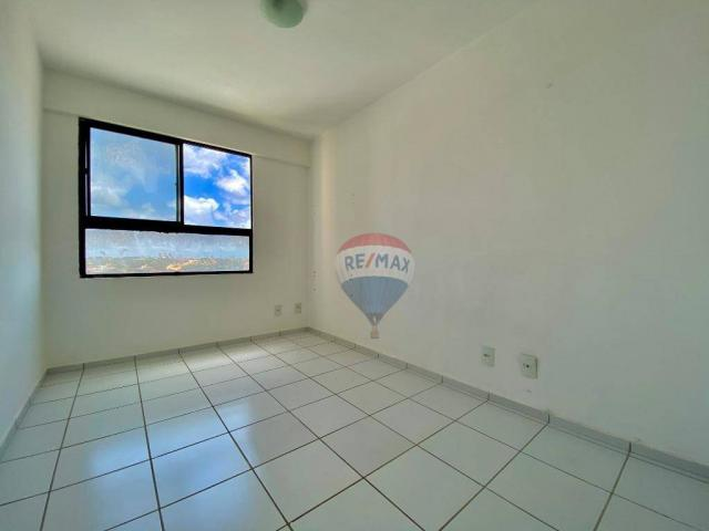 Apartamento com 2 dormitórios à venda, 59 m² por r$ 190.000 - pitimbu - natal/rn sun garde - Foto 4