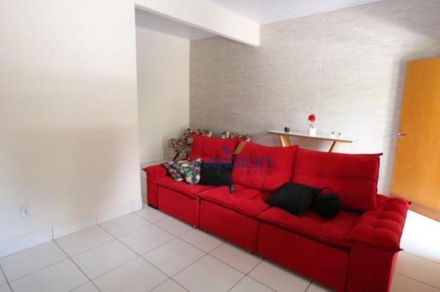 Casa com 3 dormitórios à venda, 125 m² por r$ 290.000,00 - residencial recanto do bosque - - Foto 7