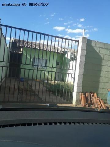 Casa para venda em várzea grande, costa verde, 2 dormitórios, 2 banheiros, 2 vagas