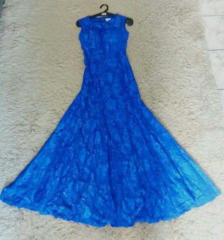 Vestido de Festa Longo Rendado - Foto 2