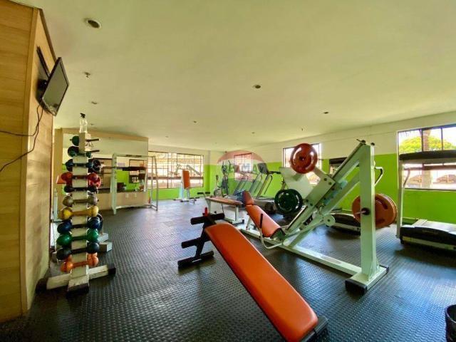 Apartamento com 2 dormitórios à venda, 59 m² por r$ 190.000 - pitimbu - natal/rn sun garde - Foto 10
